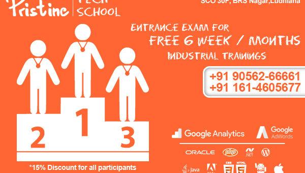 Scholarship Opportunity – 6 Week / Months Industrial Trainings