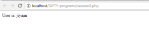 session created in PHP
