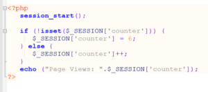 Session Count in PHP state management