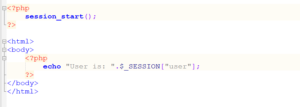 create a PHP session2.php