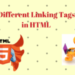 Different linking Tags in HTML
