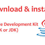Installation and download Java