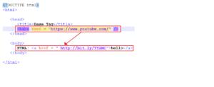 HTML alink