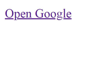 External HTML link