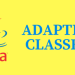 Adapter Classes