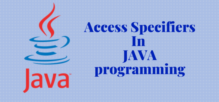 Access Specifiers In JAVA