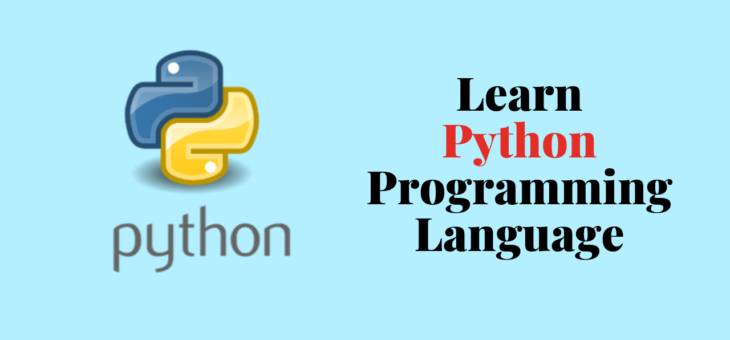 All about Python Programming Language