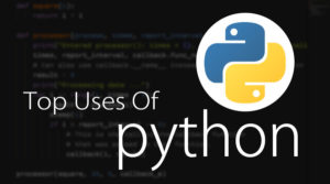 Common uses of python