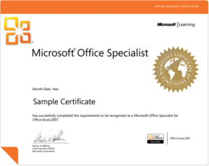 MS Office Certification Program