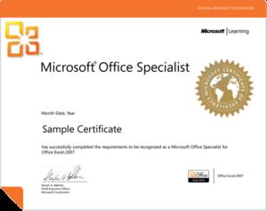 MS Office Certification Program