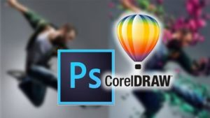 Photoshop and Corel Draw